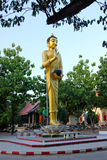 The beautiful Sculpture, monuments, temples in Thailand Royalty Free Stock Photography