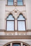 Beautiful sculpture window oriental style Royalty Free Stock Photo