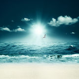 Beautiful sea. Royalty Free Stock Images