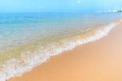 BEAUTIFUL SEA BEACH PATTAYA THAILAND Royalty Free Stock Image