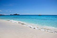 Beautiful sea and beach. At Similan Islands Stock Photography