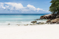 Beautiful sea and beach in Ta Chai island Royalty Free Stock Images