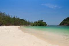 Beautiful sea and blue sky at Andaman sea,thailand Stock Photography