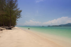 Beautiful sea and blue sky at Andaman sea,thailand Stock Image