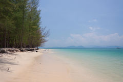 Beautiful sea and blue sky at Andaman sea,thailand Royalty Free Stock Photos