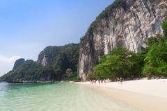 Beautiful sea and blue sky at Andaman sea,thailand Royalty Free Stock Photo