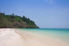 Beautiful sea and blue sky at Andaman sea,thailand Stock Images