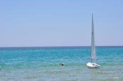Beautiful sea boat Royalty Free Stock Photography