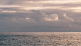Beautiful Sea And Clouds stock video footage