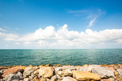Beautiful sea coast Royalty Free Stock Photo
