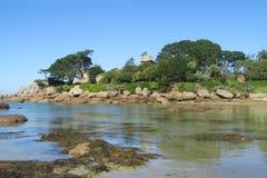 Beautiful sea coast in north France Stock Photo