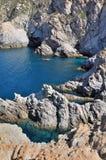 Beautiful sea in creek Royalty Free Stock Images