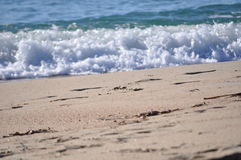 Beautiful sea foam Royalty Free Stock Image