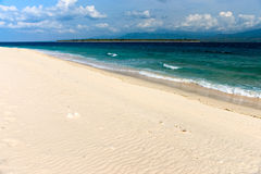 Beautiful sea at Gili Air, Indonesia. Royalty Free Stock Photography
