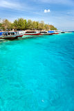 Beautiful sea at Gili Meno, Indonesia. Royalty Free Stock Photo
