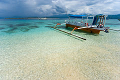 Beautiful sea at Gili Meno, Indonesia. Stock Photo