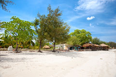 Beautiful sea at Gili Meno, Indonesia. Royalty Free Stock Photos