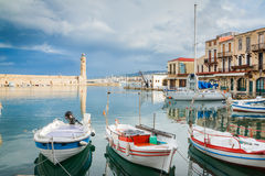 Beautiful Sea harbor. Royalty Free Stock Image