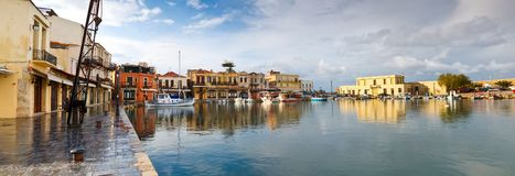 Beautiful Sea harbor. Royalty Free Stock Photography