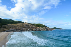 Beautiful sea in Hon Khoi, Vietnam Royalty Free Stock Photos