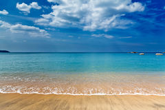 Beautiful sea landscape Royalty Free Stock Photography