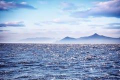 Beautiful sea landscape Stock Images