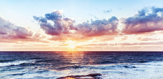 Beautiful sea landscape Royalty Free Stock Images