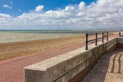 Beautiful sea landscape, england, Royalty Free Stock Image