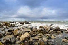 Beautiful sea landscape, Lofoten, Norway Royalty Free Stock Image