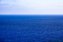 Beautiful sea landscape with small waves Royalty Free Stock Photo