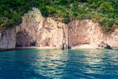 Beautiful sea landscapes on Zakynthos Island Stock Photo