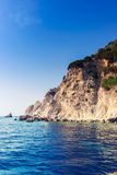 Beautiful sea landscapes on Zakynthos Island Stock Photos