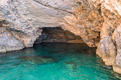 Beautiful sea landscapes on Zakynthos Island Royalty Free Stock Photo