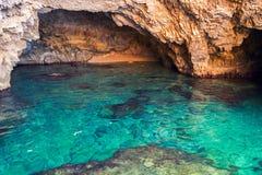 Beautiful sea landscapes on Zakynthos Island Royalty Free Stock Image