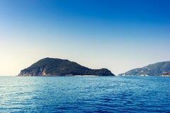 Beautiful sea landscapes on Zakynthos Island Stock Image