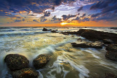 Beautiful sea in the morning. Royalty Free Stock Images