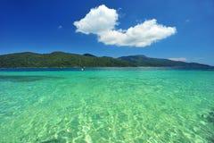 Beautiful Sea and mountain Stock Photography
