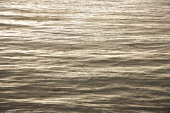 Beautiful sea with nice harmonic structure Stock Image