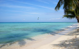 Beautiful sea off the Saona Island. Dominican Republic Stock Images