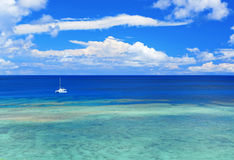 Beautiful sea in Okinawa Royalty Free Stock Photography