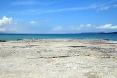 Beautiful sea in  Japan. Royalty Free Stock Photo