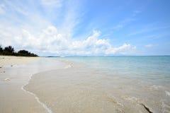 The beautiful sea in Okinawa Japan. Royalty Free Stock Photo