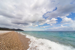 Beautiful sea paradise beach . Stock Photo