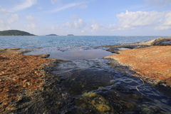 Beautiful sea in Phuket island Royalty Free Stock Images