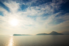 Beautiful sea scape Stock Photography