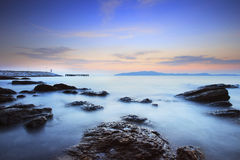 Beautiful sea scape use as natural background ,backdrop Stock Photo