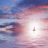 Beautiful sea scenic. Picture of a Beautiful sea scenic Stock Images