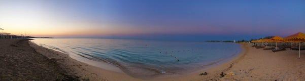 Beautiful sea seascape panorama. Composition of nature in Crimea stock photography