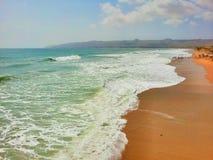 Beautiful sea shore stock photo