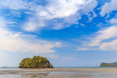 Beautiful Sea and Sky at Krabi Province, South of Thailand Stock Images